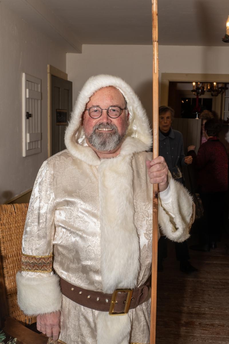 Robert Sochacki, AAUW Xmas Party, Cady Inn, Mill Race Village, Northville, MI, Dec-2018