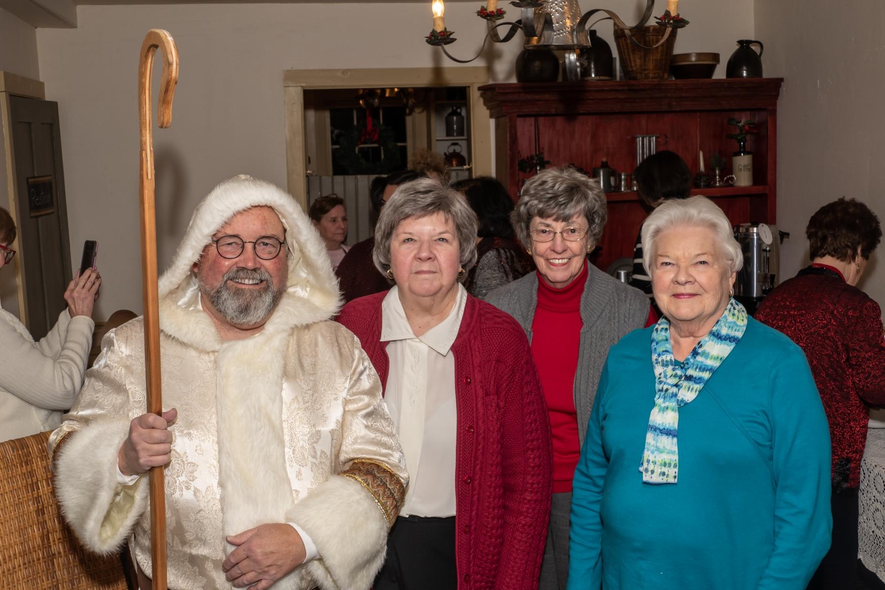 Robert Sochacki, Joan Cotton, Barb Wilson, Karen Olson.